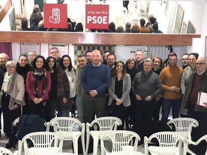El PSOE reclama al Gobierno de Rajoy que ponga en marcha el cercanías entre Villa del Río y Palma (Córdoba)