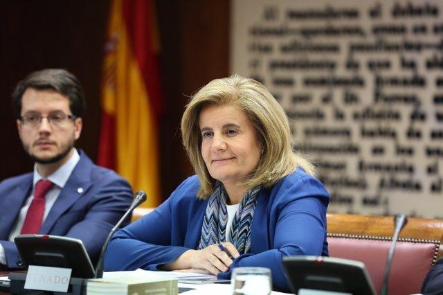 Fátima Báñez comparece en el Senado