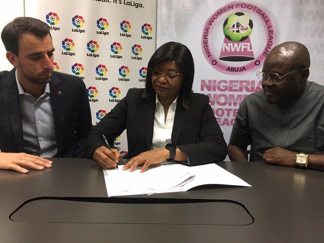 Acuerdo entre LaLiga y la Liga de Nigeria