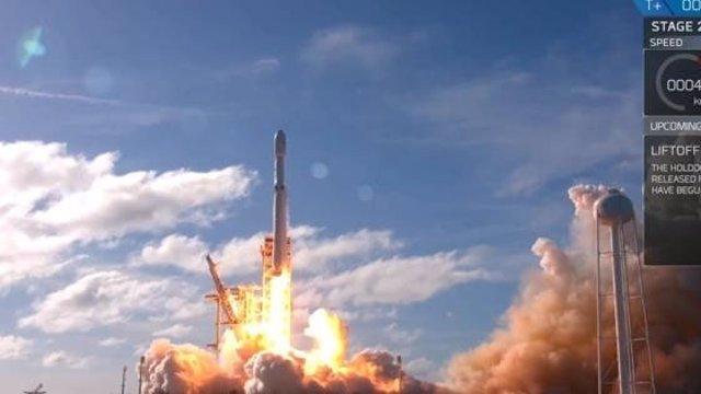 Despega el supercohete Space X