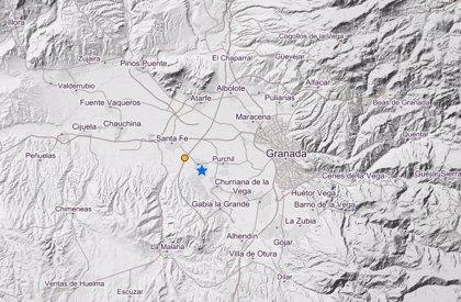Registrado un terremoto de magnitud 3,0 con epicentro al sureste de Santa Fe (Granada)