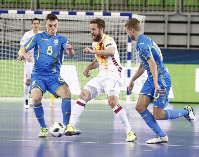 Pola mete a España en semifinales del Europeo de fútbol sala