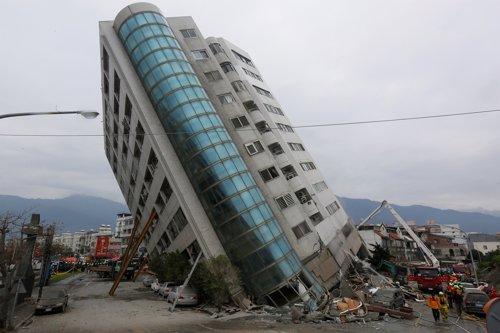 Consecuencias del terremoto que sacudió Hualien (Taiwán)