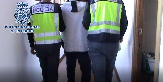 Traficante detenido