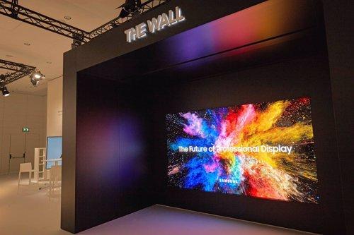 Pantalla The Wall Professional de Samsung