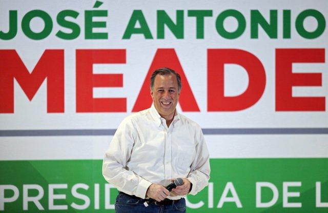 Jose Antonio Meade, precandidato del PRI a la presidencia