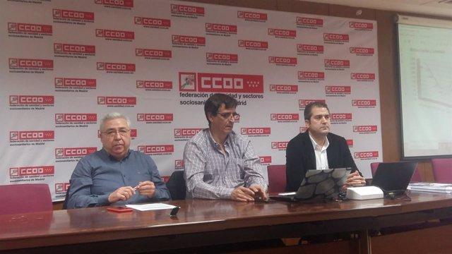 Estudio de plazas MIR de FSS-CCOO