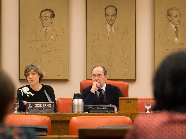 La ministra Tejerina en el Congreso