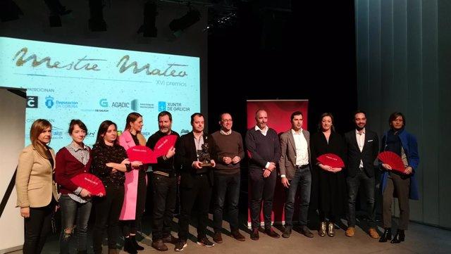 Anuncio de los nominados a los XVI Premios Mestre Mateo