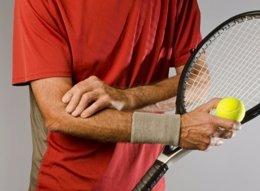 Codo de tenista, dolor, tenis