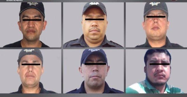 Los seis policías detenidos