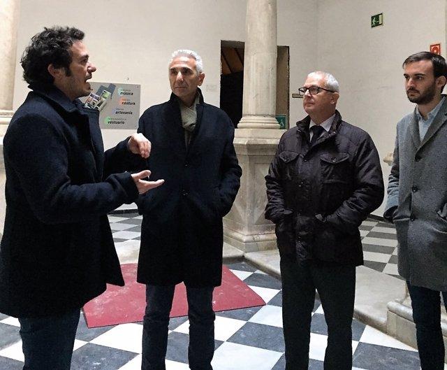 El consejero de Cultura y el alcalde de Cádiz