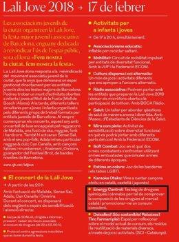 Programa Fiestas Sta. Eulàlia