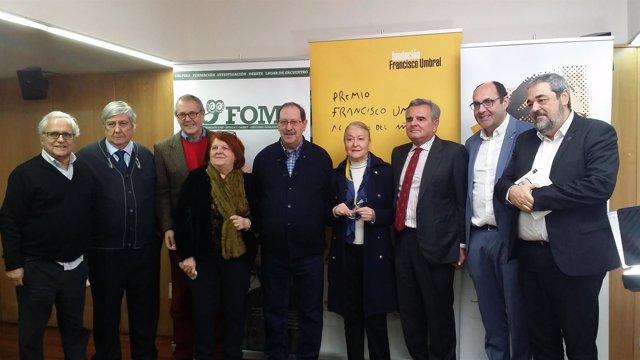 Santos Juliá, ganador del Premio Francisco Umbral 2017 por 'La Transición'