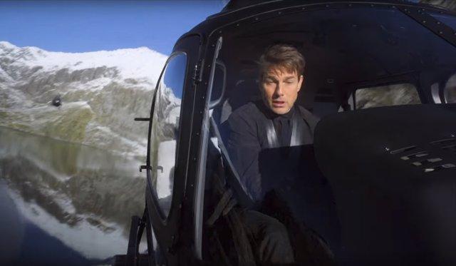 Tom Cruise rodando Misión Imposible: Fallout