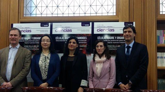 Ciclo de conferencias sobre células madre de Fundación Ramón Areces