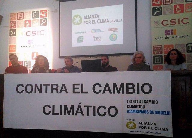 Alianza por el Clima en Sevilla