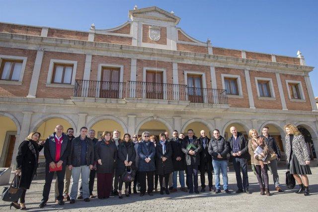 El equipo de delegados de la Junta se traslada a Albolote