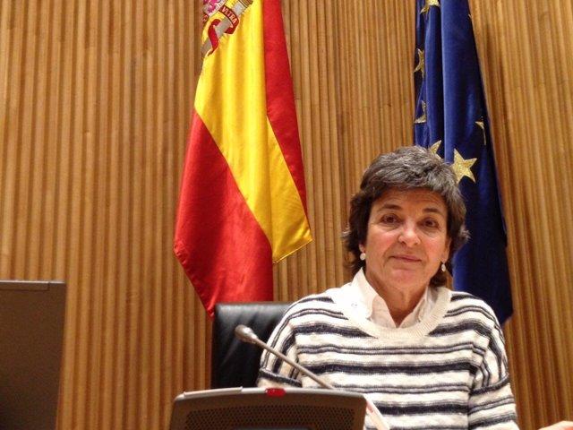 Amparo Botejara, diputada de Podemos en el Congreso por Badajoz