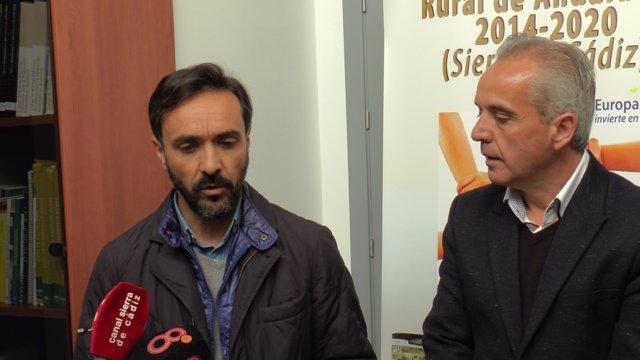 El delegado territorial de Agricultura, José Manuel Miranda