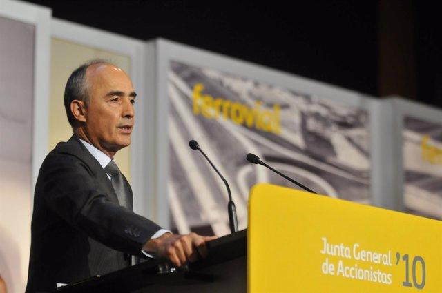 Rafal Del Pino, Presidente De Ferrovial