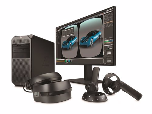 HP Z4 Workstation con HP Windows Mixed Reality Edición Profesional