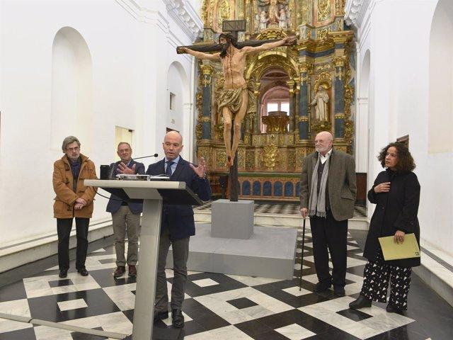 Nota Y Fotos De Cultura: Cultura Expone La Imagen Del Cristo De La Agonía De Jua