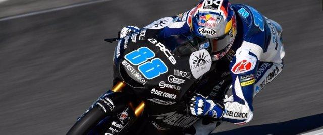 Jorge Martín, el más rápido en Moto 3