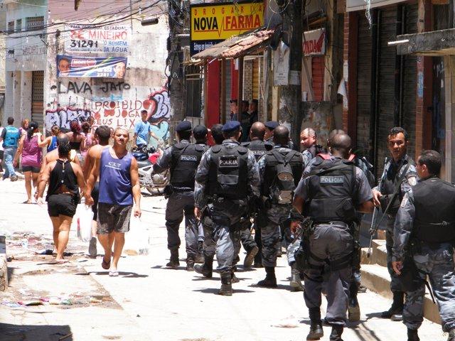 Policía Militar Brasil