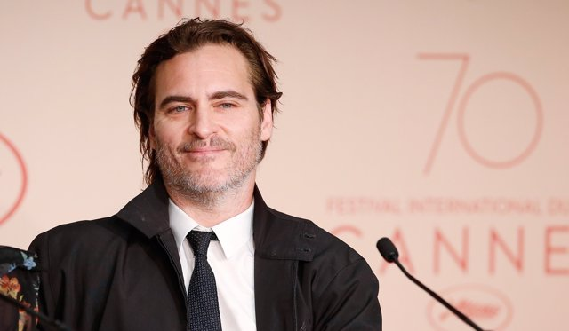 Joaquin Phoenix en el 70 Festival de Cannes