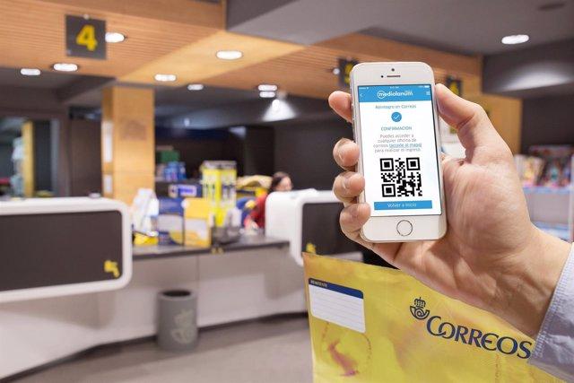 Clientes de Mediolanum podrán retirar efectivo en oficinas de Correos