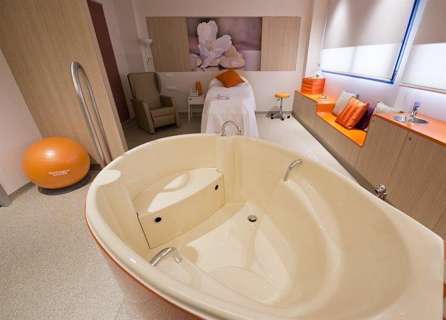 Habitación para el parto en HM Hospitales