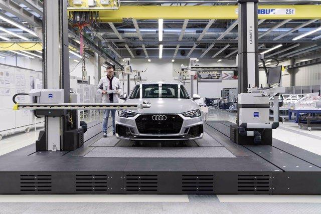 Producción Audi