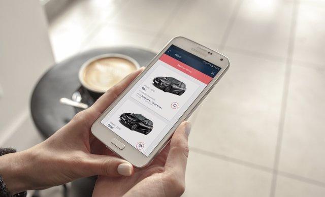 Trive coches vehículos app compra internet tecnología españa