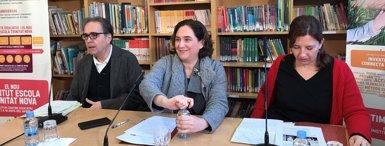Barcelona invertirà 28,3 milions en educació i cultura, 20,2 a centres per a nous projectes (EUROPA PRESS)