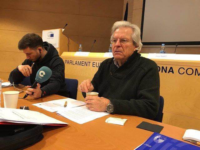 El vicepresidente de los liberales europeos ALDE, Javier Nart