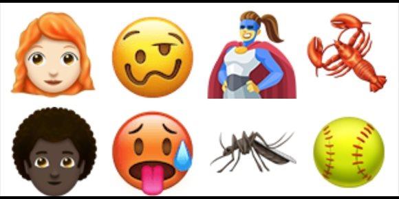 4. Personas pelirrojas y con el pelo rizado, principales novedades de los emoji para 2018