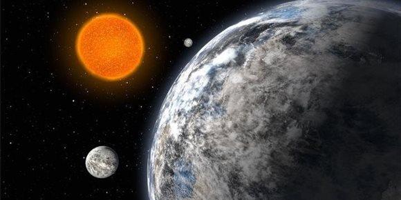 7. Una de las mayores súper-Tierras aparece envuelta en gas a 100 años luz