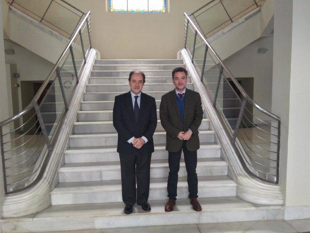 El presidente y el vicepresidente de la Asociación Profesional de la Magistratur