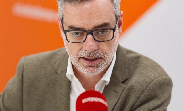 Entrevista de Europa Press a José Manuel Villegas