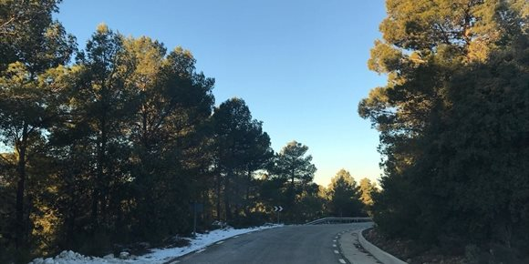 4. La Generalitat Valenciana estableix l'Emergència 0 per nevades en cinc comarques de Castelló i dos de València