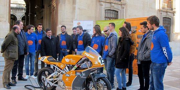 9. La Diputación de Jaén apoyará la participación de la UJA en el campeonato Motostudent 2018