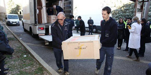 4. El 23 de febrero podrán verse los bienes recuperados de Sijena