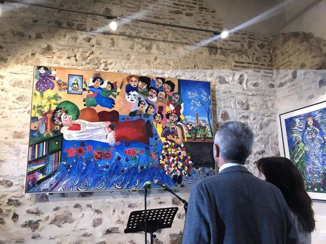 Miguel Ángel Vázquez asiste a la apertura del Centro Ocaña en Cantillana