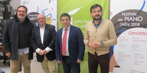 8. El I Festival de Piano de Jaén programa seis espectáculos con la presencia de figuras de la música
