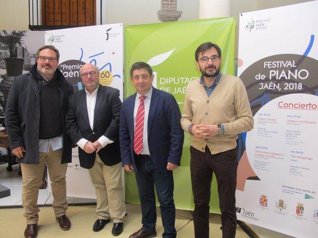 Presentación del I Festival de Piano de Jaén