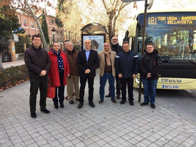 Nuevo autobús accesible del Consorcio Metropolitano