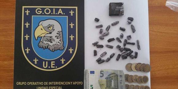 9. Detienen a dos jóvenes por el menudeo de drogas en Las Palmas de Gran Canaria