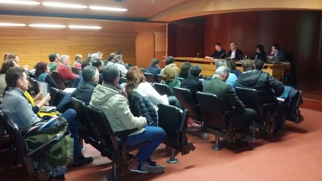 Reunion de la Junta con técnicos municipales sobre la regeneracióin de espacios