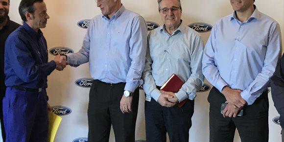 7. Ford Almussafes firma amb els sindicats l'acord de competitivitat 'Horizontes 2020s'